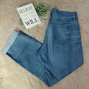 J.Crew slim broken in boyfriend jeans Size 31